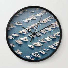 Avalon Harbor Wall Clock