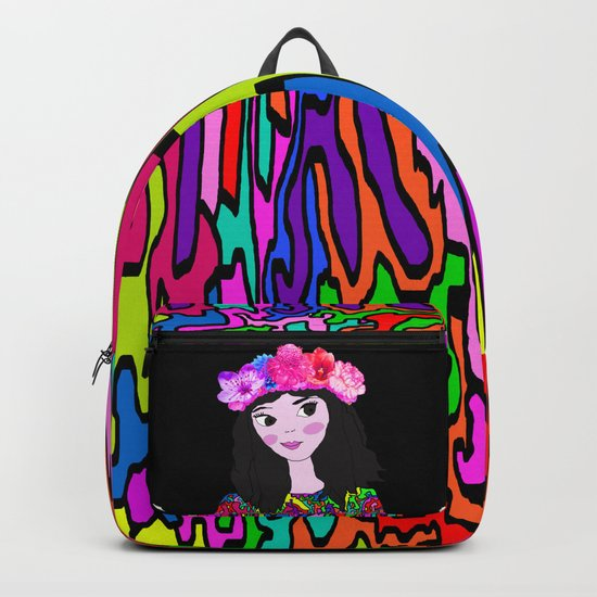 Spring in the Heart of Winter   Kids Painting Backpack