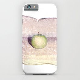 Emulsion Lift 6- An Apple A Day iPhone Case