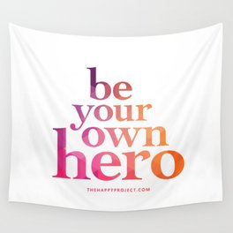 Be Your Own Hero Wall Tapestry