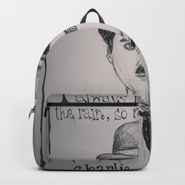 (Charlie Chaplin - Comic) - yks by ofs珊 Backpack