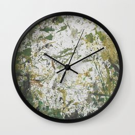 Abstract Sprout Wall Clock