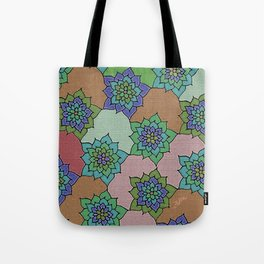 zakiaz autumn lotus Tote Bag
