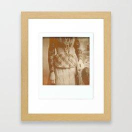 My ancestors like polaroid as much as I do Framed Art Print
