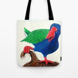 Takahe nest Tote Bag