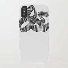 Eye bending Ampersand. Slim Case iPhone X