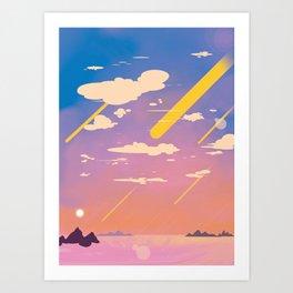 Full of Sky Art Print