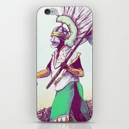 Costumed Person iPhone Skin