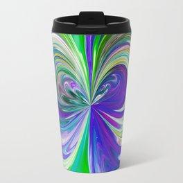 333 - Abstract Colour Orb Design Travel Mug