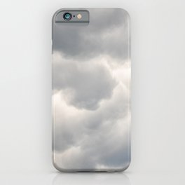 A bunch of rainy clouds iPhone Case
