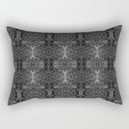 zakiaz blk&gray abstract design Rectangular Pillow