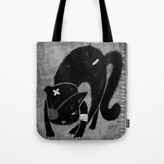 Scary Cat Tote Bag