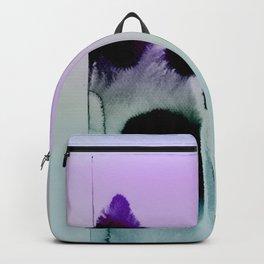 Ink On Pastel Mint Backpack