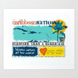 Caribbean Nation Art Print