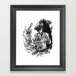 One Armed Gangster Framed Art Print