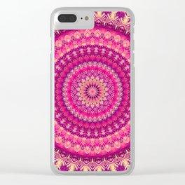 Mandala 303 Clear iPhone Case