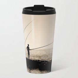 Three Fishermen Travel Mug