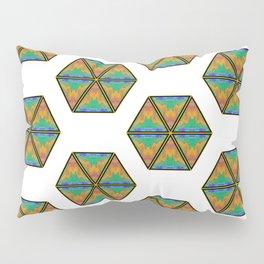 Pyramitile 3 (Hexagon Repeating) Pillow Sham