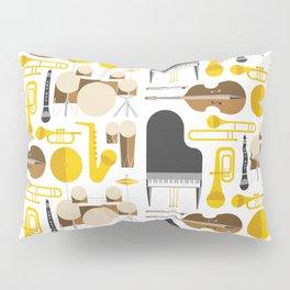 Jazz instruments Pillow Sham