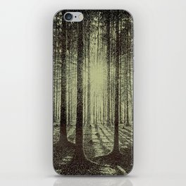Victor Olgyay - Sunset - 1910 Sunrise Through Tree Forest Silhouette iPhone Skin