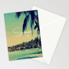 Summer Love Vintage Beach Stationery Cards