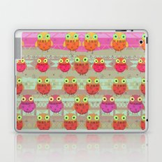 Winter owl Laptop & iPad Skin