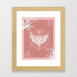 Witch Craft Autumn Framed Art Print