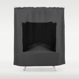 Ass Backwards Shower Curtain