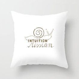 Intuition Mission Throw Pillow