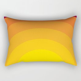 Bold Sunset Rectangular Pillow