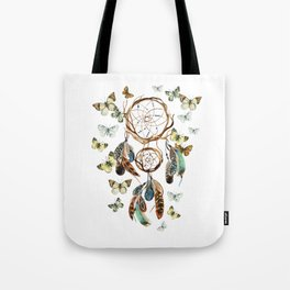 Butterfly Dream Catcher Tote Bag