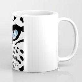 The blues; leopard. Coffee Mug