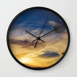 Sunset Trail Wall Clock