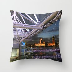 in 'The Eye' Throw Pillow