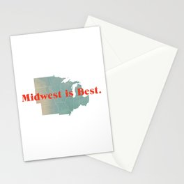 Midwest is Best Stationery Cards