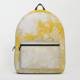 Earth Texture in Yellow Backpack
