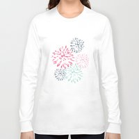 fireworks Long Sleeve T-shirts featuring Fireworks by Kassy Dean