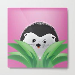 Adorable Baby Porcupine Metal Print
