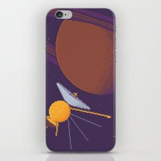 Cassini and Saturn (Grand Finale Poster) iPhone & iPod Skin