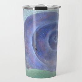 Moon Snail Aglow Travel Mug