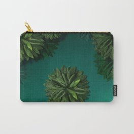 """Caribbean Peppermint"" Carry-All Pouch"