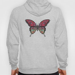 psychedelic Miranda (Mirandus psykhedelos) fantasy butterfly Hoody