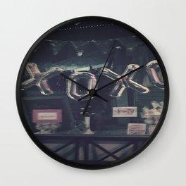 xoxo--xxx Wall Clock