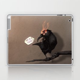 never more Laptop & iPad Skin