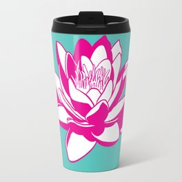 Lotus Print - Flower Wall Decor Travel Mug