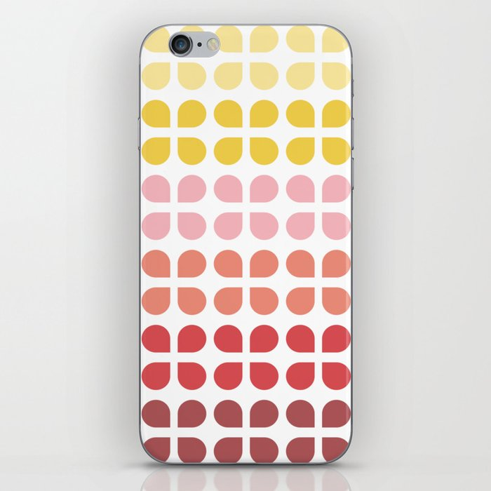 Floral Geometry Pattern iPhone Skin