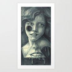 don't trust mouths Art Print
