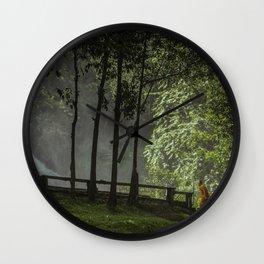 Serenity Walks Wall Clock