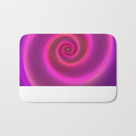 Neon spiral Bath Mat