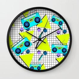 Flash Back Wall Clock